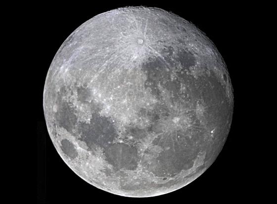 Moon at 98.5% phase