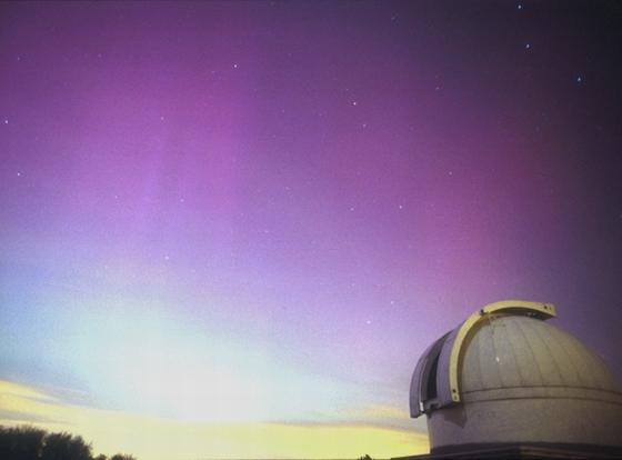 Our observatory and aurora