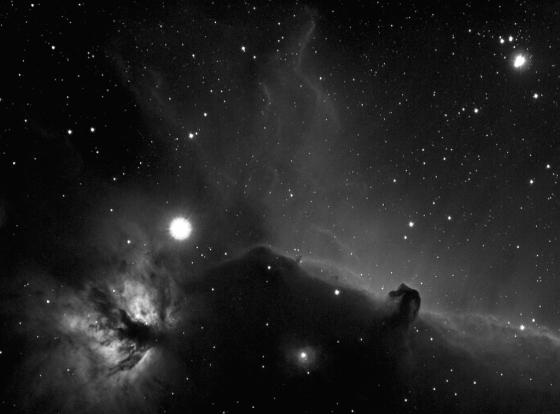 B 33 Horse Head nebula in Orion