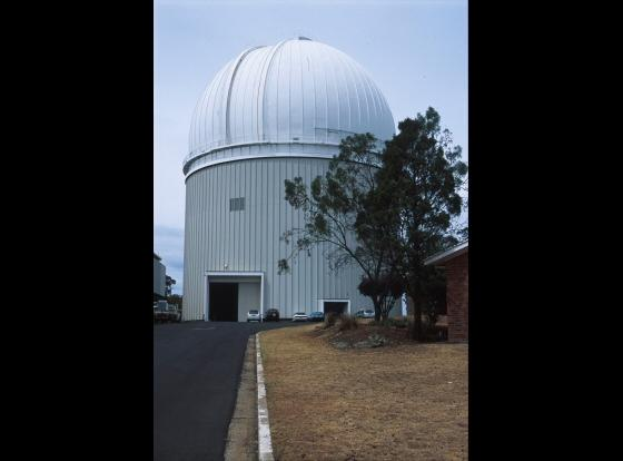 Dome housing the AAT