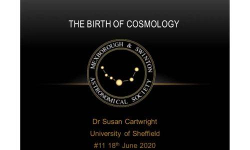 The Birth of Cosmology